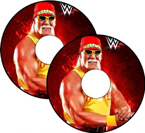 HULK HOGAN Wheelchair Spoke Guard Sticker Skins